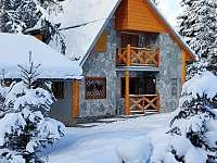 chata v zimě - k pronajmutí Tatranská Štrba