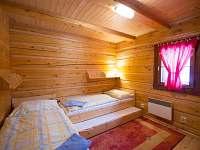 2x jednolôžková posteľ + prístelka