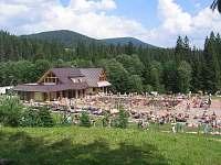 Mestské bazény Oravice - chata k pronajmutí