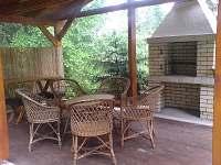 Posedenie pri chate - ubytování Oravice