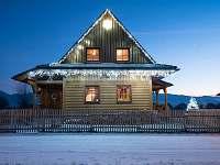 Snehová nádielka... - chata k pronájmu Liptovský Trnovec