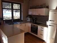 Kompletne vybavená kuchyňa - chata k pronajmutí Košiarny briežok