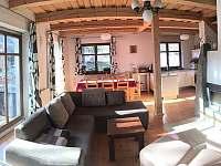 Prízemie - spoločný priestor - chata k pronajmutí Košiarny briežok