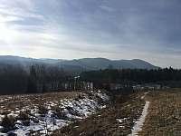 Výhľad na Slovenský raj z výchadzky sponad chaty - Košiarny briežok