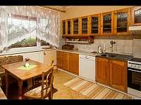 Kuchyna - apartmán ubytování Pribylina