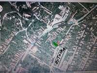 mapa vjazd od ulice Štúrova - chata k pronájmu Smolenice