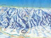 Mapa Nízkých Tater s vyznačením Ploštína