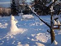 záhrada zima - apartmán k pronájmu Vysoké Tatry - Starý Smokovec