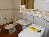 Koupelna č.1 - pronájem rekreačního domu Piešťany