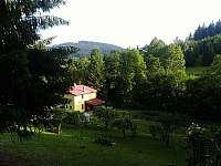 záhrada - chalupa k pronajmutí Vysoká nad Kysucou