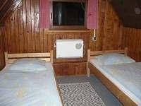 Ložnice v podkroví - pronájem chaty Zuberec