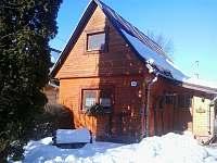 Pohled na objekt v zimním období - chata k pronajmutí Zuberec