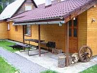 Venkovní posezení - chata ubytování Zuberec