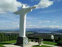 Socha Ježíše Krista výška 9,5 m Klin - Brezovica