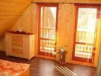 spalna zbojnickadrevenica2 2x manzelska postel - pronájem chalupy Liptovský Mikuláš - Bodice