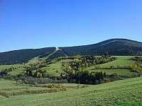 Pohled na lyžařské středisko