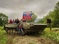 Jazda na tanku - pronájem vily Vlachy