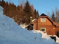 Chalupa v zime - ubytování Terchová