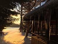Chata Donovaly v zime -