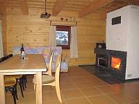 obývací pokoj - pronájem chaty Zázrivá