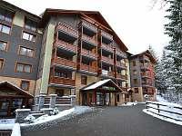 Apartmánový dom Fatrapark 2 v zime