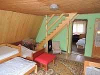 hlavní ložnice s jižní terasou