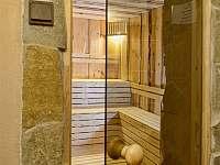 Sauna - pronájem chaty Mlynčeky