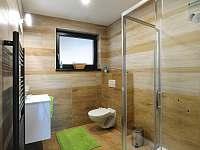 2 x koupelna se spr.koutem, wc a umyvadlem se zrcadlem - Jablonná nad Vltavou