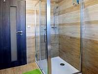 sprchový kout - chalupa k pronájmu Jablonná nad Vltavou