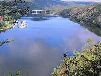 Vyhlídka na Živohošťský most - chalupa k pronajmutí Jablonná nad Vltavou