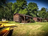 Chatky na horách - dovolená  Vyžlovský rybník rekreace Sázava