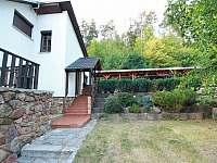 vchod do chaty - pronájem Sýkořice