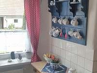 kuchyň - chalupa ubytování Louňovice pod Blaníkem