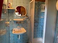 Koupelna přízemí - pronájem chaty Vlastějovice