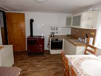 Kuchyň - apartmán ubytování Nižbor
