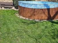 bazén - chata k pronajmutí Židovice nad Labem