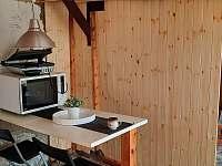 kuchyňka 2 - chata ubytování Židovice nad Labem