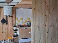 kuchyňka - chata k pronajmutí Židovice nad Labem