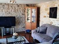 obývací místnost - chata ubytování Židovice nad Labem