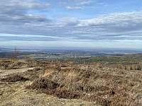 Výhled z vrcholu Houpák - Zaječov