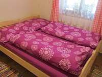 dolní ložnice - pronájem chaty Ohrazenice