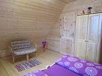 horní ložnice 1 - pronájem chaty Ohrazenice