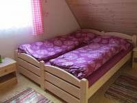 horní ložnice - chata ubytování Ohrazenice