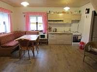 kuchyň s obýváčkem - Ohrazenice
