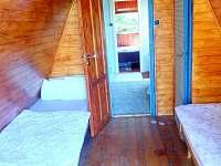 Horní patro - pokoj č. 1 - chata ubytování Hříměždice
