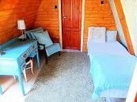 Horní patro - pokoj č. 2 - chata k pronajmutí Hříměždice