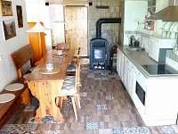 Kuchyň - pronájem chaty Hříměždice
