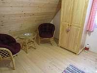 horní ložnice 1 - chata ubytování Ohrazenice