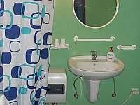 Koupelna - chata k pronajmutí Drahenice