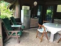 Kuchyňka - chata k pronajmutí Drahenice